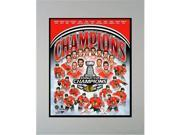 Encore Select 923-81 11 x 14 in. 2015 Stanley Cup Champions Chicago Blackhawks Mat 9SIV06W69E3219