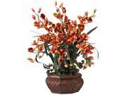 Nearly Natural 1199-BG Large Cymbidium Silk Flower Arrangement 9SIV06W69J0111