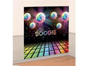 Amscan 671222 Disco Fever Scene Setter - Pack of 12 9SIV06W6997664