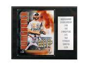 CandICollectables 1215BUMGARMVP MLB 12 x 15 in. Madison Bumgarner 2014 World Series MVP San Francisco Giants Player Plaque 9SIV06W6A26227