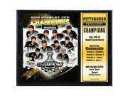 Encore Select 523-34 2009 Pittsburgh Penguins Stanley Cup Stat Plaque 9SIV06W69Z5638