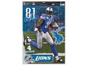 Detroit Lions Calvin Johnson Decal 11x17 Multi Use 9SIV06W6A25514