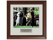 Athlon CTBL-003625a Tiger Woods Unsigned Photo Framed 96 Masters with Arnold Palmer & Jack Nicklaus - 8 x 10 9SIV06W6A82107