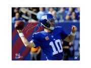 Athlon CTBL-019400 Eli Manning Signed New York Giants 8 x 10 Photo with 100th Career Win - Steiner Hologram 9SIV06W6A81030
