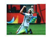 Sports Integrity 17073 Abby Wambach Signed USA Womens Soccer 16 x 20 2015 World Cup Celebrate Photo - JSA 9SIV06W6A40620