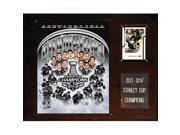 CandICollectables 1215SC14 NHL 12 x 15 in. Los Angeles Kings 2013-2014 Stanley Cup Champions Plaque 9SIV06W69Z5541