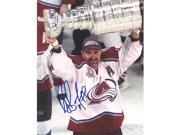 AJ Sports World BOUR166020 RAY BOURQUE Colorado Avalanche SIGNED 8x10 Photo 2001 Stanley Cup Photo 9SIV06W6A12797