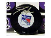 Autograph Warehouse 259543 Adam Graves Autographed Hockey Puck - New York Rangers 1994 Stanley Cup 9SIV06W6A23178