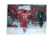 Autograph Warehouse 234250 Rod Brind Amour Autographed 8 x 10 in. Photo - Carolina Hurricanes 2006 Stanley Cup Image - No. SC5 Time Date on Photo 9SIV06W6A24337