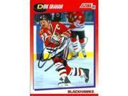 Autograph Warehouse 66798 Dirk Graham Autographed Hockey Card Chicago Blackhawks 1991 Score No. 15 9SIV06W6A66872