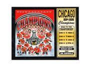 Encore Select 523-80 12 x 15 in. 2015 Stanley Cup Champions Chicago Blackhawks Stat Plaque 9SIV06W6A27519