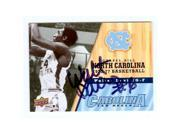 Walter Davis autographed basketball card (North Carolina Tar Heels) 2011 Upper Deck No.28 9SIV06W6A37497