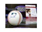 Autograph Warehouse 102785 Bobby Abreu Autographed Baseball Jsa Side Panel 9SIV06W69Z0349