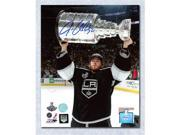 AJ SportsWorld QUIJ11202A Jonathan Quick Los Angeles Kings Autographed 2012 Stanley Cup 8 x 10 Photo 9SIV06W6A60614