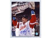 Sergei Fedorov Detroit Red Wings Autographed Stanley Cup 8x10 Photo 9SIV06W6A12402