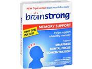 Brainstrong 1713312 Gluten Free Memory Support Dietary Supplement 30 Capsules