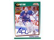 Autograph Warehouse 71315 Grant Fuhr Autographed Hockey Card Toronto Maple Leafs 1991 Score No. 58T 9SIV06W6A19283
