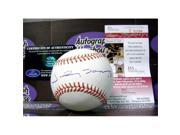 Johnny Damon autographed Baseball (JSA) 9SIV06W6A37638