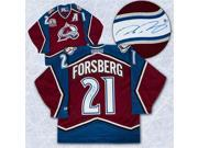 Peter Forsberg Colorado Avalanche Autographed Retro CCM 2001 Stanley Cup Jersey 9SIV06W69Y1798