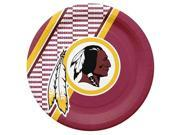 Washington Redskins Disposable Paper Plates 9SIV06W69Z4418
