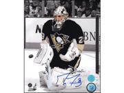 AJ Sports World FLEM133022 Marc-Andre Fleury Pittsburgh Penguins Autographed 8x10 Spotlight Photo 9SIV06W6AA6330