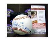 Autograph Warehouse 54000 Jeremy Hellickson Autographed Baseball Inscribed Hellboy Jsa 9SIV06W69Y3127