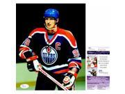 Real Deal Memorabilia WGretzky8x10-1-JSA Wayne Gretzky Signed - Autographed Edmonton Oilers 8 x 10 in. Photo - 4x Stanley Cup Champion - JSA Certificate of Auth 9SIV06W6A85248