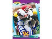 Lamar Smith autographed Football Card (Seattle Seahawks) 1994 Score No.288 Rookie 9SIV06W6A36612