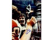 Autograph Warehouse 60833 Bobby Clarke Autographed 8 x 10 Photo Philadelphia Flyers With Stanley Cup Image No .1 9SIV06W6A65237