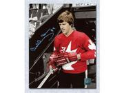 Bobby Orr Team Canada Autographed 1976 Canada Cup Spotlight 11x14 Photo: GNR COA 9SIV06W6A09304