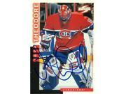 Autograph Warehouse 63632 Jose Theodore Autographed Hockey Card Montreal Canadiens 1997 Score No. 42 9SIV06W6A63433