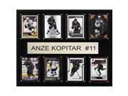 CandICollectables 1215KOPITAR8C NHL 12 x 15 in. Anze Kopitar Los Angeles Kings 8-Card Plaque 9SIV06W6A26604