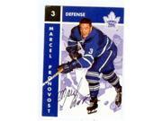 Autograph Warehouse 56675 Marcel Pronovost Autographed Hockey Card Toronto Maple Leafs 1996 Parkhurst No .108 9SIV06W6A15556
