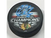 AJ Sports World CRAC10105B Corey Crawford Chicago Blackhawks Autographed 2015 Stanley Cup Champion Puck 9SIV06W6A00526