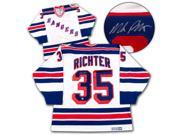 AJ Sports World RICT103001 MIKE RICHTER New York Rangers SIGNED 1994 Stanley Cup JERSEY 9SIV06W6A60041