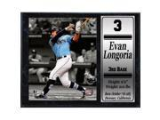 Encore Select 12x15 Stat Plaque - Evan Longoria 9SIV06W69Z5437