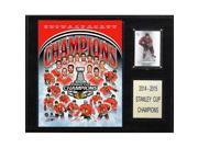 CandICollectables 1215SC15 NHL 12 x 15 in. Chicago Blackhawks 2014-2015 Stanley Cup Champions Plaque 9SIV06W6A74410