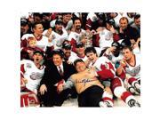 Autograph Warehouse 249183 Scotty Bowman Autographed 8 x 10 in. Photo - Detroit Red Wings Stanley Cup Image - No. SC9 9SIV06W6A71122