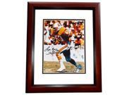 8 x 10 in. Lee Roy Selmon Autographed Tampa Bay Bucs Photo, Deceased Hall of Famer, Mahogany Custom Frame 9SIV06W6A09175