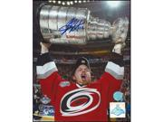 AJ Sports World STAE167020 ERIC STAAL Carolina SIGNED 8x10 Photo 2006 Stanley Cup Photo 9SIV06W6A12961