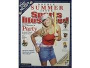 Athlon CTBL-014023 Jennie Finch Signed Olympic Team USA Sports Illustrated Cover July 11, 2005 with USA - 16 x 20 9SIV06W6A82577