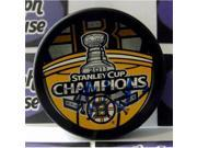Autograph Warehouse 224059 Claude Julien Autographed Hockey Puck - Boston Bruins 2011 Stanley Cup Champions 9SIV06W6A71440