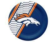 Denver Broncos Disposable Paper Plates 9SIV06W69Z4477