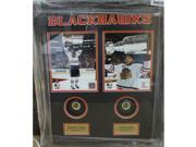 Encore Select 623-44 Autographed Shadowbox with Puck - Chicago Blackhawks Patrick Kane & Jonathan Toews 9SIV06W6A75119