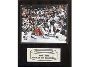 CandICollectables 1215SC13CE NHL 12 x 15 in. Chicago Blackhawks 2012-2013 Stanley Cup Celebration Plaque 9SIV06W69Z6092