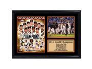 Encore Select 125-37 12 x 18 Photo Stat Frame - San Francisco World Champions 9SIV06W69Z4952