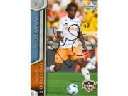 Autograph Warehouse 63970 Joseph Ngwenya Autographed Soccer Trading Card Mls Soccer 2007 Upper Deck No. 51 9SIV06W6AA8504