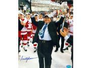 Scotty Bowman autographed 8x10 Photo (Detroit Red Wings) Stanley Cup Champions Image No.1 9SIV06W6A38147