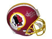Athlon CTBL-002764B Sonny Jurgensen Signed Washington Redskins TB Full Size Replica Helmet - HOF 83 9SIV06W6A02891
