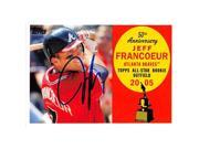 Autograph Warehouse 248173 Jeff Francoeur Autographed Baseball Card - Atlanta Braves 2008 Topps AR53 All Star Rookie Cup 9SIV06W6A24415